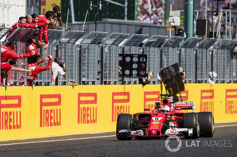 Macaristan GP: Sebastian Vettel, Ferrari SF70H
