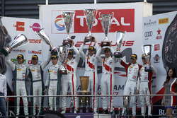 Podium: Race winner #25 Audi Sport Team Sainteloc Racing Audi R8 LMS: Markus Winkelhock, Christopher Haase, Jules Gounon, second place #8 Bentley Team M-Sport Bentley Continental GT3: Andy Soucek, Maxime Soulet, Vincent Abril, third place #90 Akka ASP Mercedes-AMG GT3: Michael Meadows, Raffaele Marciello, Edoardo Mortara