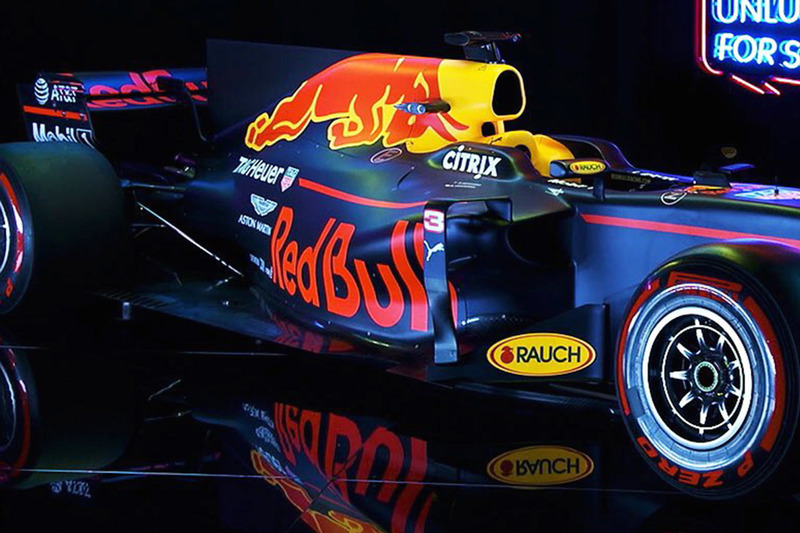 Red Bull Racing RB13: Seitenkasten