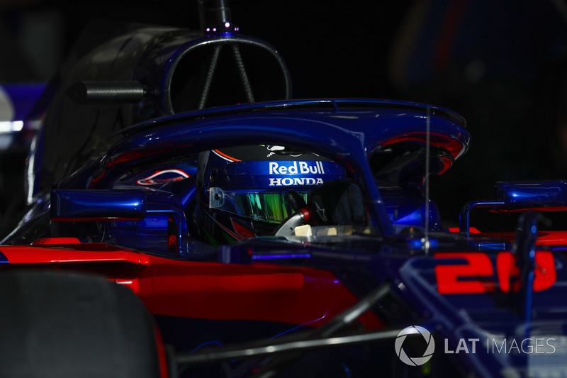 11: Brendon Hartley, Toro Rosso STR13 Honda, 1'30.105