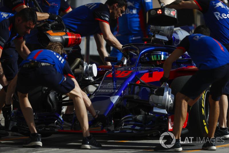 17. Брендон Хартлі, Toro Rosso — 0