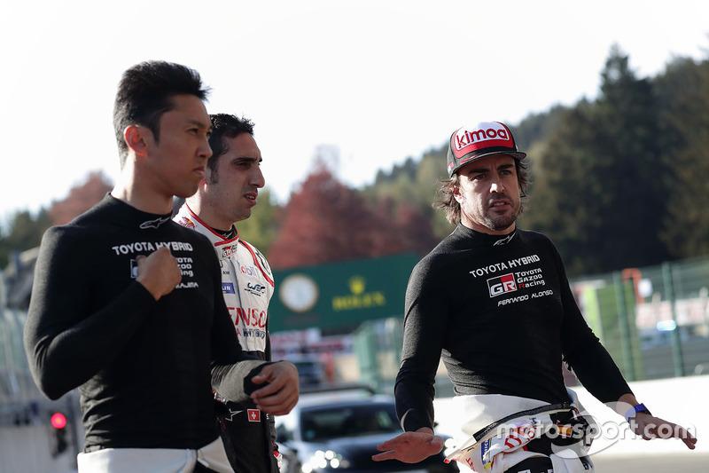 Fernando Alonso, Sébastien Buemi, Kazuki Nakajima, Toyota Gazoo Racing