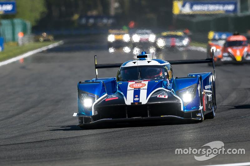#6 CEFC TRSM RACING Ginetta G60-LT-P1: Oliver Rowland, Alex Brundle, Oliver Turvey