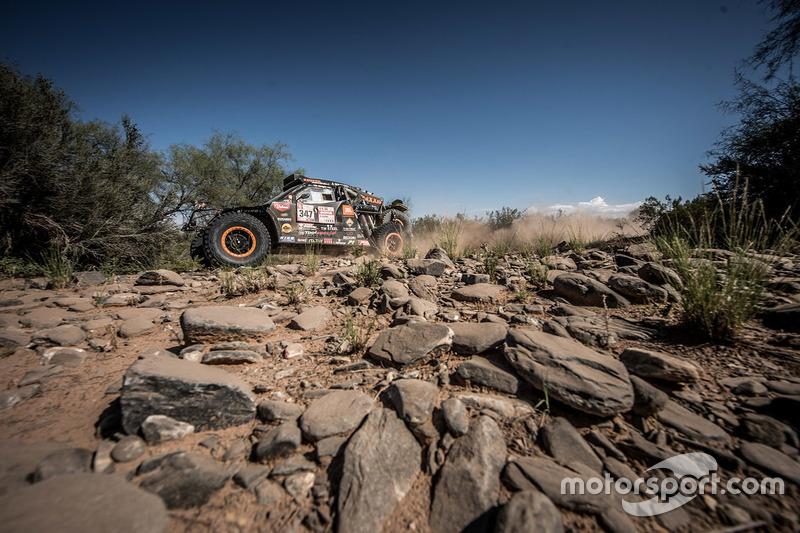 #347 Jeffries Dakar Rally: Тім Коронель, Том Коронель
