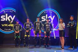 Sky Racing Team VR46 launch atmosphere