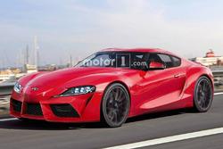 2019 Toyota Supra render