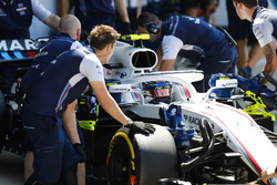 Sergey Sirotkin, Williams FW41,