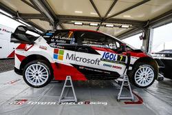 Car of Jari-Matti Latvala, Miikka Anttila, Toyota Gazoo Racing WRT Toyota Yaris WRC