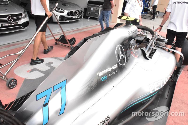 Carrosserie de la Mercedes-AMG F1 W09