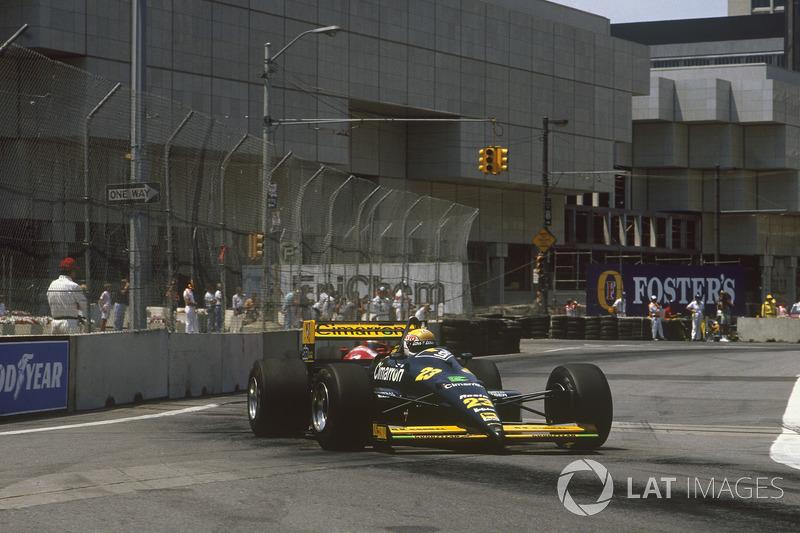 3. Pierluigi Martini, 118 GPs (1984-1985, 1988-1995). Seu melhor resultado é o 4° (San Marino 1991 e Portugal 1991).