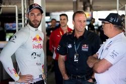 Mark Harland, Executive Director, Marketing, Shane van Gisbergen, Triple Eight Race Engineering Holden