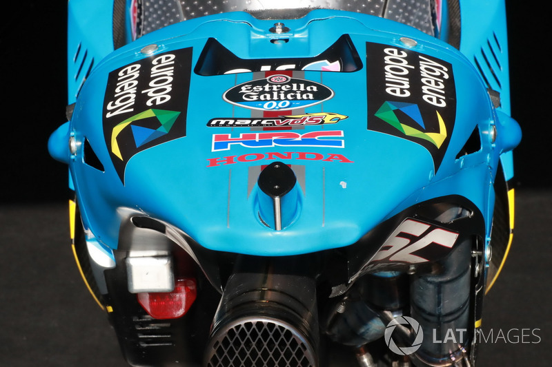 Bike of Thomas Luthi, Estrella Galicia 0,0 Marc VDS