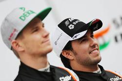 Sergio Perez, Sahara Force India F1, und Nico Hülkenberg, Sahara Force India F1