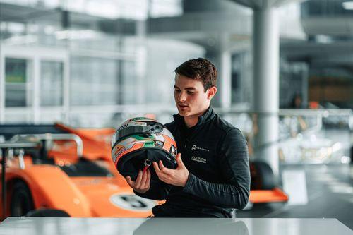 O'Ward bezoekt McLaren-fabriek