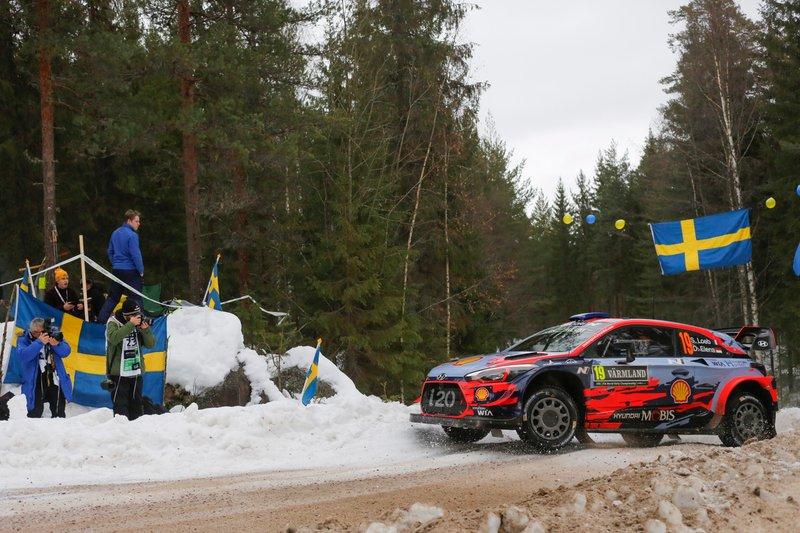 Себастьян Льоб, Даніель Елена, Hyundai i20 WRC, Hyundai Motorsport