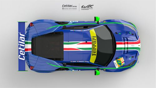 Cetilar Racing launch