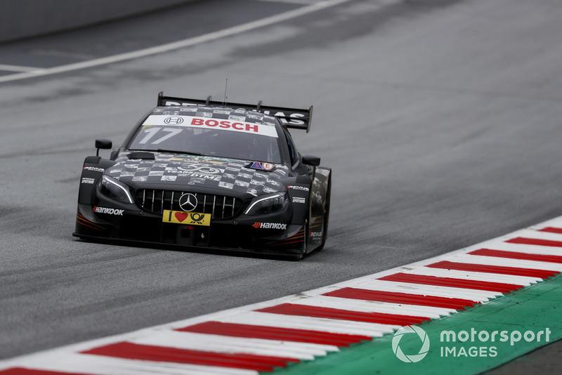 17. Sebastien Ogier, Mercedes-AMG Team HWA, Mercedes-AMG C63 DTM