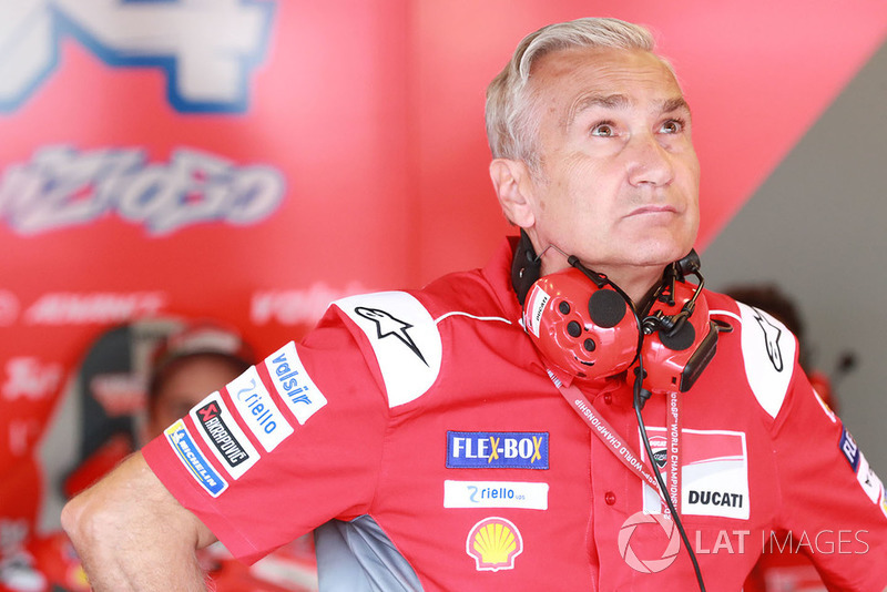 Davide Tardozzi, Team manager Ducati Team