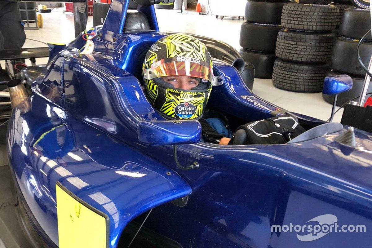 Lando Norris Silverstone training