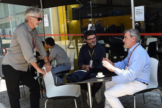 Damon Hill, Sky TV, Luis Garcia Abad, Manager of Fernando Alonso and Carlos Sainz