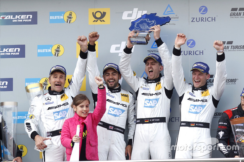 Race winners: #4 AMG-Team Black Falcon, Mercedes-AMG GT3: Bernd Schneider, Maro Engel, Adam Christod