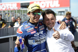 Race winner Enea Bastianini, Gresini Racing Team Moto3, Fausto Gresini