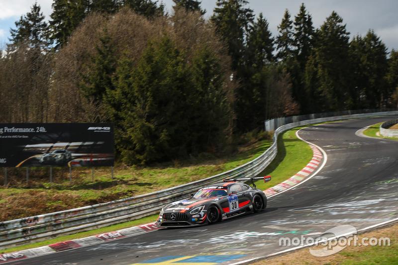 #30 HTP Motorsport,  Mercedes-AMG GT3