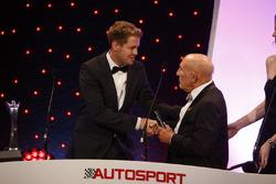 Себастьян Феттель и Сэр Стирлинг Мосс, церемония Autosport Awards