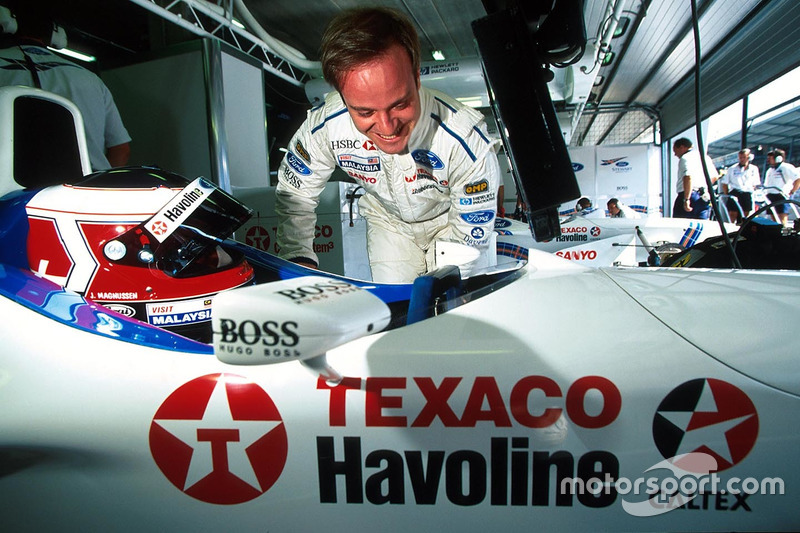 Ян Магнуссен и Рубенс Баррикелло, Stewart Grand Prix Ford SF-1