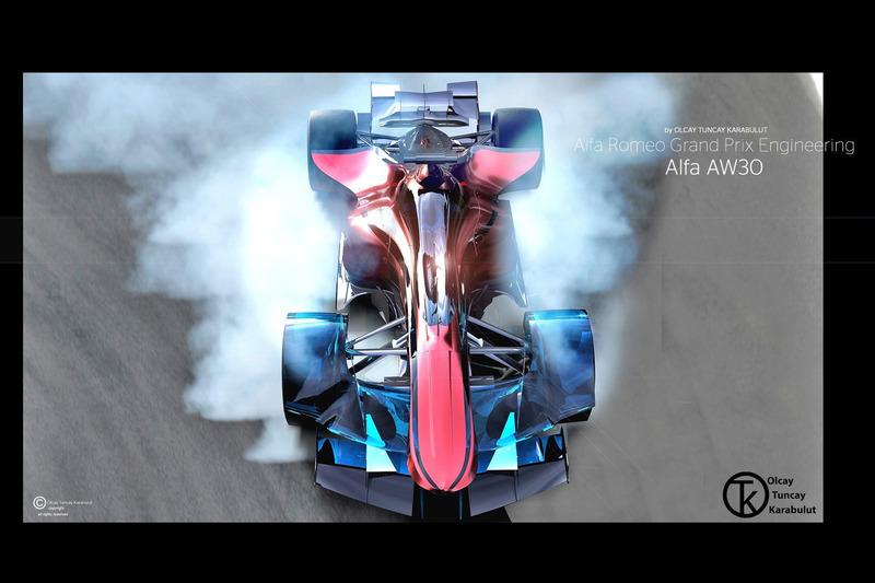 Alfa Romeo F1 Konsept Tasarım