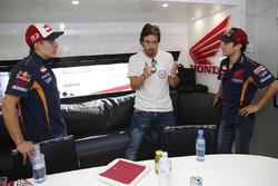 Marc Marquez, Repsol Honda Team, Fernando Alonso, Dani Pedrosa, Repsol Honda Team