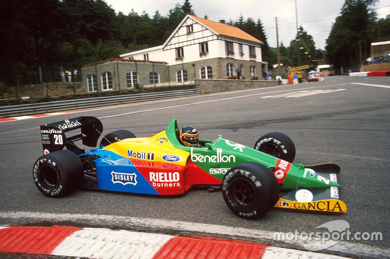 Thierry Boutsen, Benetton Ford (1988)