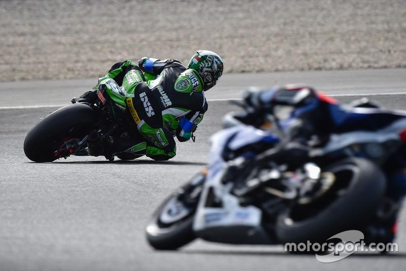 #8 Kawasaki: Horst Saiger, Michael Savary, Gianluca Vizzielo