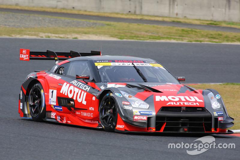 #1 Motul Autech Nissan GT-R: Tsugio Matsuda, Ronnie Quintarelli