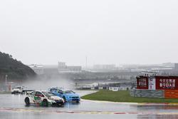 Gabriele Tarquini, Honda Racing Team JAS, Honda Civic WTCC, Nicky Catsburg, Polestar Cyan Racing, Volvo S60 Polestar TC1