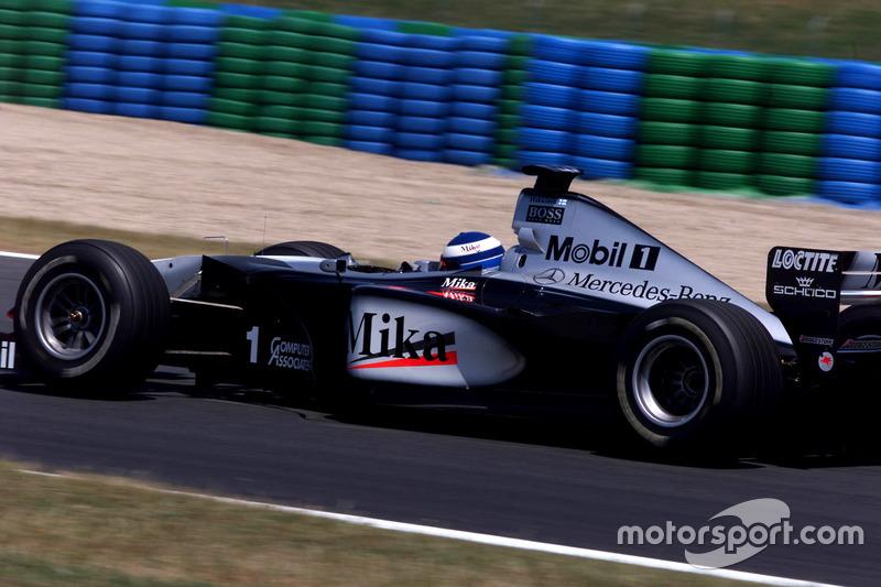 Міка Хаккінен, McLaren