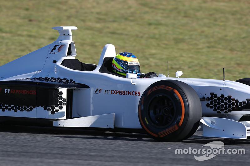 Жолт Баумгартнер, пилот F1 Experiences