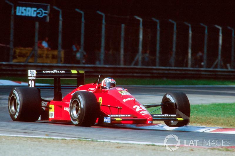 Герхард Бергер, Ferrari F1-87/88С (1 победа)