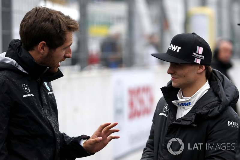 Даніель Хункаделья та Лукас Ауер, Mercedes-AMG Team HWA, Mercedes-AMG C63 DTM