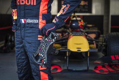Sebastian Ogier em um F1