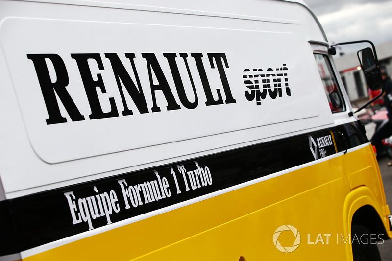 Моторхоум Renault Sport F1 Team F1 Historic