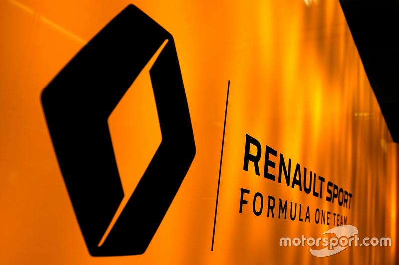 Logo von Renault F1 Team
