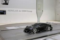 BMW M4 DTM nella galleria del vento