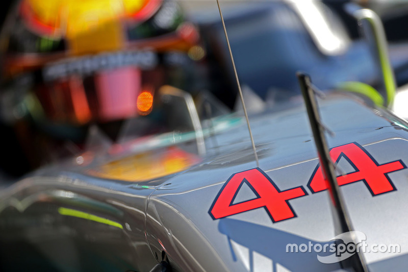 Jeudi : Lewis Hamilton, Mercedes AMG F1 W08