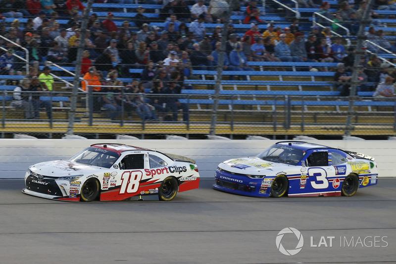 Kyle Benjamin, Joe Gibbs Racing Toyota, Scott Lagasse Jr., Chevrolet