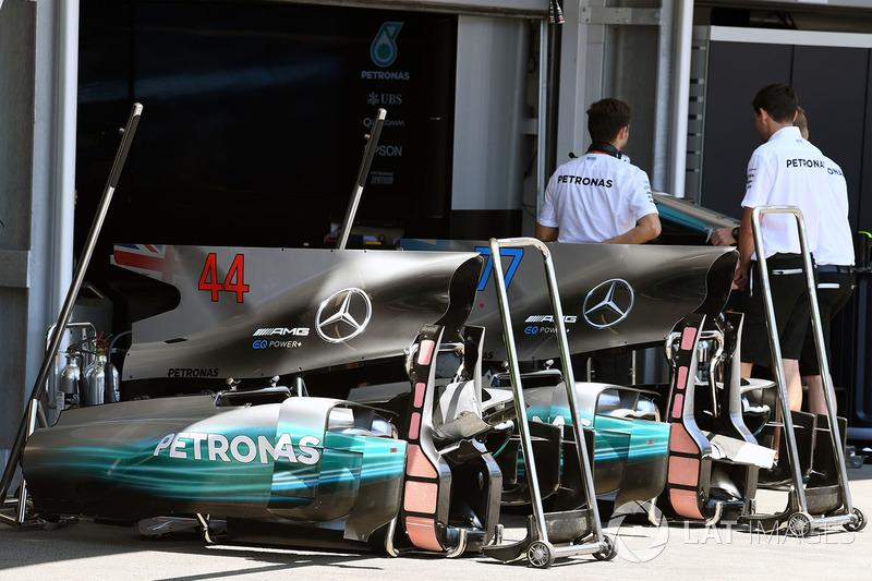 Mercedes AMG F1 W08: Karosserie