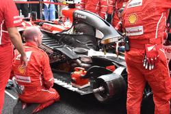 Ferrari SF70H: problemi in griglia per Kimi Raikkonen e Sepang
