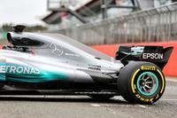 Mercedes AMG F1 W08 Hybrid arka detay