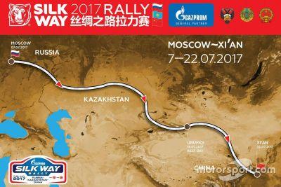 Silk Way Rally tanıtımı