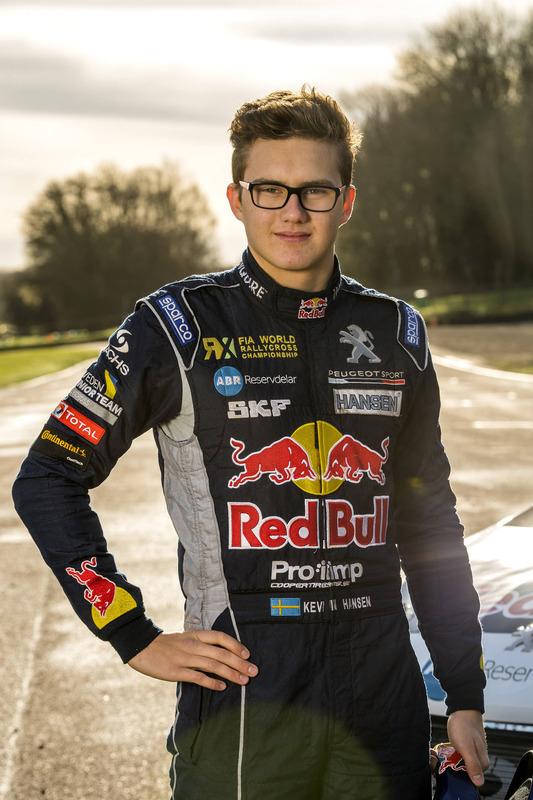 Kevin Hansen, Team Peugeot Hansen